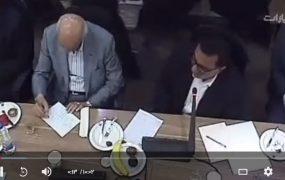 صحبت های لو رفته از دوربین مدار بسته اتاق بازگرانی و وزیر صنعت